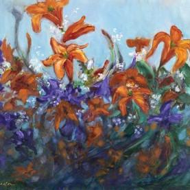 Dancing Daylilies